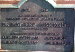 Towncouncilplaque