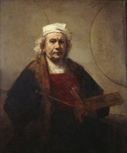 Rembrandt van Rijn Portrait of the Artist, ca. 1665 Oil on canvas Kenwood House, English Heritage, Iveagh Bequest (88028836) Photo courtesy American Federation of Arts