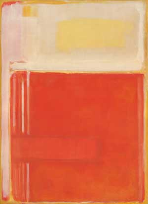 No. 8, 1949 Oil and mixed media on canvas 90 x 66 in. The National Gallery of Art, Washington Gift of The Mark Rothko Foundation, Inc., 1986.43.147 ©1998 Kate Rothko Prizel & Christopher Rothko /Artists Rights Society (ARS), New York Image courtesy of the National Gallery of Art, Washington