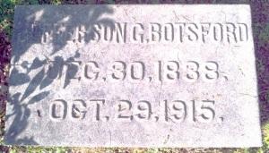 Botsford Grave