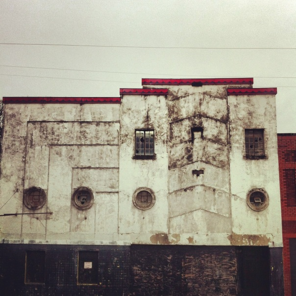 A former movie theatre at 13th and Pine.