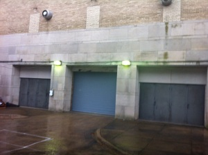 Former entrance to Robinson off Garland Street. Used to attend basketball games.