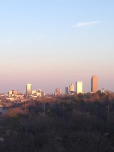 Downtown LR as viewed from Knoop Park