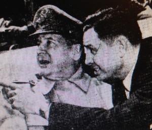 General MacArthur and Mayor Remmel