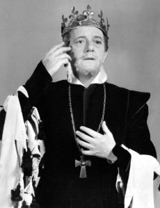 Maurice Evans as Shakespeare's Richard II