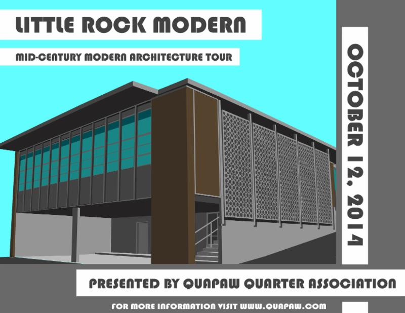 Mid century modern architecture in little rock is on tour for R architecture tours