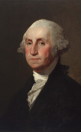 an analysis of the characteristics of the paintings of george washington Ap® art history 2010 scoring guidelines left: jean-antoine houdon, george washington, 1788–1792 neo-classical characteristics.