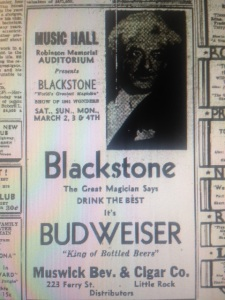Blackstone ad
