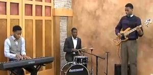 The New Era Jazz Project in the KATV studio