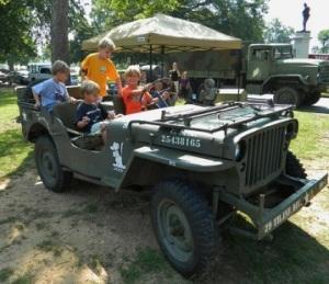 MacMus vintage jeep
