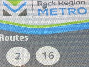1616 Bus route