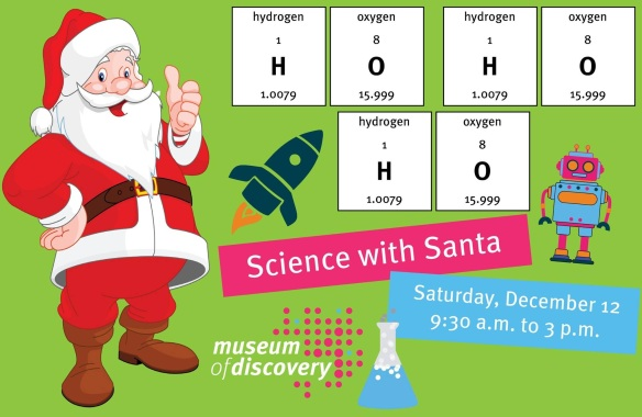 MOD Science Santa