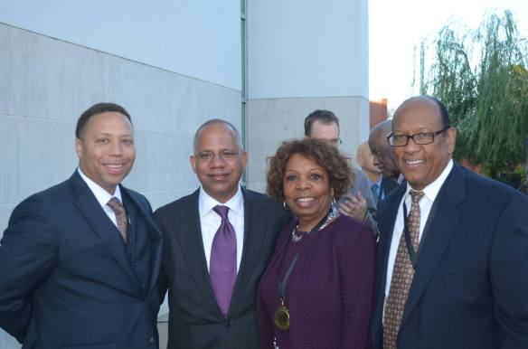 Mahlon Martin Jr., City Manager Bruce T. Moore, Honorable Lottie Shackelford, Charles Bussey Jr.