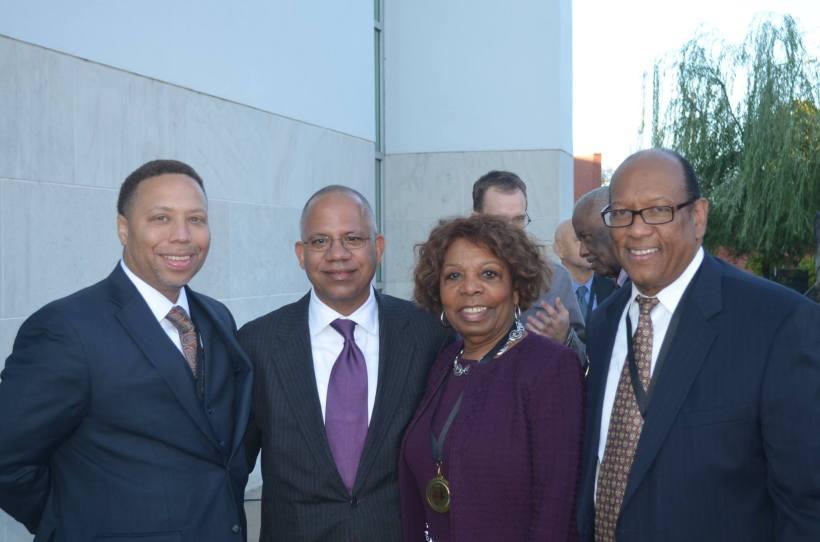 Mahlon Martin Jr., City Manager Bruce T. Moore, Honorable Lottie Shackelford, Charles Bussey Jr.