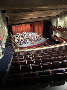 The ASO in rehearsal at Robinson Center