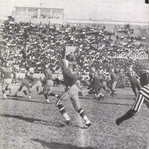 Mann High School takes on Jones High in 1962