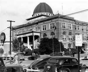 Little Rock City Hall in the 1940s