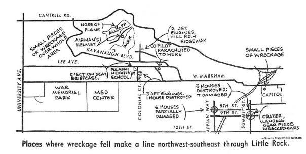 B47 Wreck Map