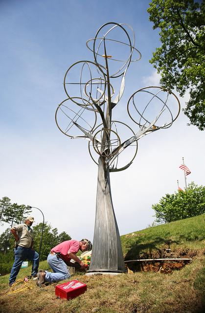 Mockingbird Tree install LRCVB