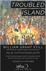 Troubled island, vocal score Cover Art