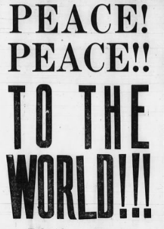Portion of a Pfeifer Brothers ad in November 11 1918 ARKANSAS DEMOCRAT